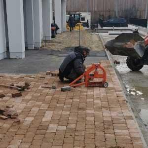 Pflasterarbeiten für Bremen